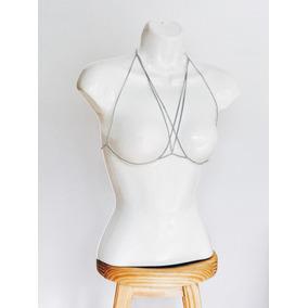 Body Chain Harness Bra Arnes Sexy Choker Bralett Moda