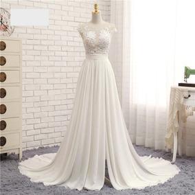 Vestido Line Flowers De Casamento Noiva Madrinha Cartório