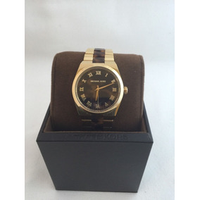 Autentico Michael Kors Reloj Mk6151 Mujer Carey Y Oro