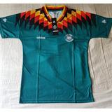 Camiseta Selección De Alemania Verde Mundial 94