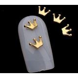 Decoración Uñas Modelo Coronas Paquete De 100 Piezas
