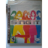 Ps3 Disney Sing It $285 Pesos - Nuevo - Mikegames