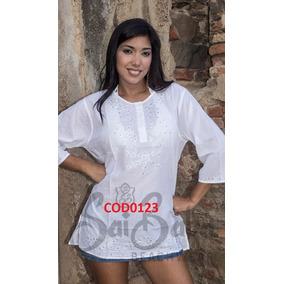 Ropa Playera - Hindu Moda Blanca Plus, Gorditas, Grandes