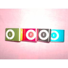 Reproductor Mp3 Con Con Audifonos Y Cable Usb