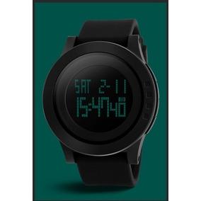 Elegante Reloj Quarzo Skmei 1142 Negro Deportivo Sumergible