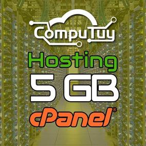 Hosting O Alojamiento Web 5gb + Dominio.com.ve Gratis X1 Mes