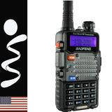 Radio Motorola Baofeng Walkie Talkie Linterna - Radio Fm 5w