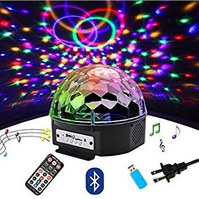 Luz Led Crystal Magic Ball Light