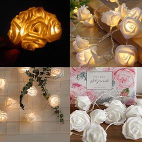 Luminaria Flores Led Buque Casamento Festa 15 Anos
