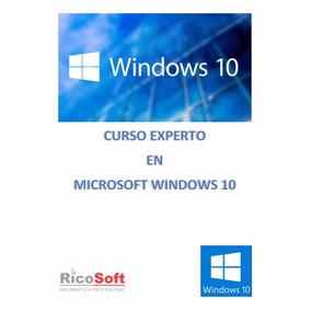 Microsoft Windows 10 Experto Libro Digital Pdf