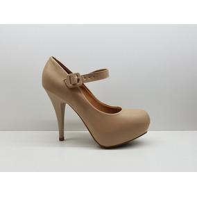 Zapato Stiletto Taco 12 Cm. Plataforma Escondida Vizzano 17
