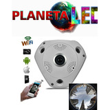 Camara Ip 360 Grados 3d Panoramica Full Hd Vigilancia Wifi