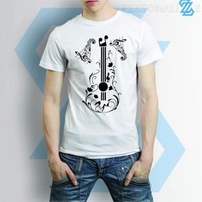 Camiseta Pra Quem Toca Violão Estudante De Música