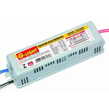 Reator Eletronico Lampada Fluorescente 2x 20w Bivolt Inmetro