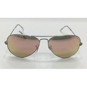 4a71fffd2a913 Ray Ban Aviador Rose - Óculos De Sol no Mercado Livre Brasil