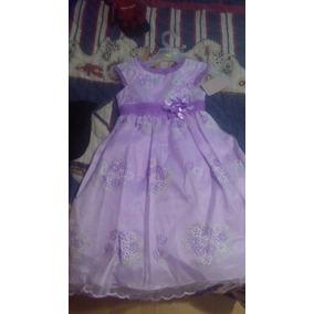 Elegante Vestido De Niña 6 Años