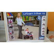 Triciclo Carriola Infantil Molto Urban Confort Rs Niña.