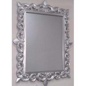 Espejo pared rectangular espejos en mercado libre argentina for Espejo rectangular plateado