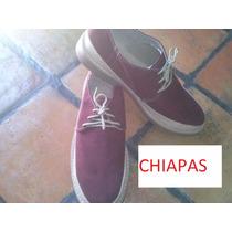 Calzado-zapatos Caballero/tipicos/artesanales De Chiapas!!