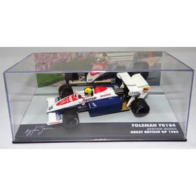 Lendas Brasileiras Toleman Tg184 Ayrton Senna 1984 1/43