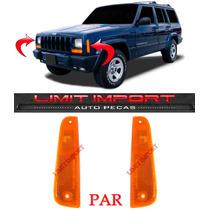 Par Lanterna Refletor Lateral Cherokee Sport 97 98 99 00 01