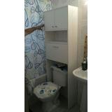 Practico Mueble Para Baño En Blanco. *a Pedido*