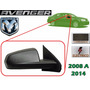 08-14 Dodge Avenger Espejo Electrico Corrugado Lado Derecho