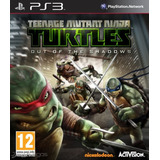 Tortugas Ninja Out Of The Shadows Ps3 | ¡ Entrego Hoy !
