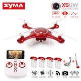 Drone Syma X5uw 2017 Cámara Hd 720 + 5 Baterias + Repuestos