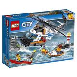 Lego City Guardacostas Gran Helicóptero De Rescate 60166 Blo