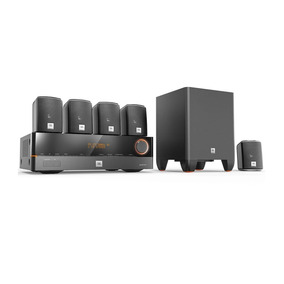 Home Theater Jbl Cinema J-5100 5.1 Canais Hdmi 3d E 4k 127v