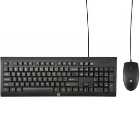 Kit Teclado Y Mouse Hp C2500 Cable Usb Tienda Oficial Hp