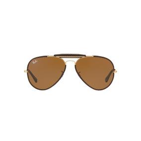Ray-ban Aviador Caçador Craft Rb3422q 9041 Marrom Leather L 1d71467752