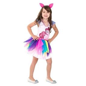 Fantasia Infantil My Little Pony Pronta Entrega Frete Gratis