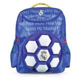 Mochila Infantil 3d Real Madrid Bola - Maccabiart