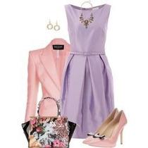 Vestido +blazer Moda Evangelica Elegante Cod#llaac+