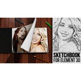Template After Effects - Sketchbook 3d