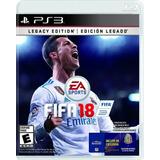 Fifa 18 - Legacy Edition Edicion Legado (nuevo Sellado) Ps3