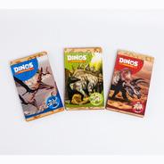 Combo 3 Dinosaurios Rompecabezas 3d Puzzle C/ Libro Souvenir