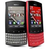 Carcasa Completa Botones Metalicos Nokia Asha 303