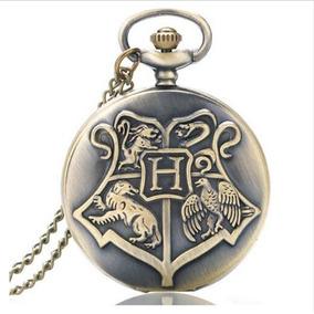 Relógio De Bolso Harry Potter Hogwarts Modelos A Escolha