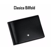 Cartera Mont Blanc Billfold Nuevo Modelo Classic