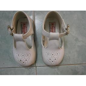 Zapatos De Niñas Blancos Talla 20 Marca Modas Claudia