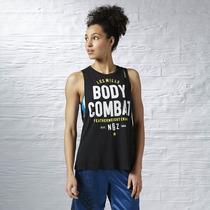 Musculosa Deportiva Less Mills Body Combat Importado Miami