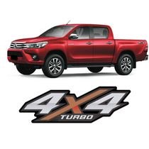 Adesivo Toyota Hilux 2015 2016 4x4 Turbo