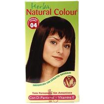 Tinte Castaño Caoba 150ml Natural Colour Sin Amoniaco