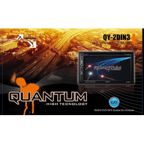 Radio Quantum Doble Din 6.8 Gps-dvd-usb-am-fm-tactil