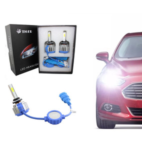 Kit Xenon Ultra Led C/ Cooler H4 2 Fases Alto E Baixo 6000k