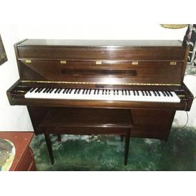 Piano De Pared Yamaha Única Dueña Con Banqueta Y Funda