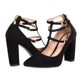 Zapatillas Jennifer Lopez Negras Pr-8083502